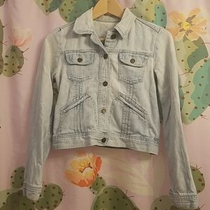 GAP Cropped Jean Jacket
